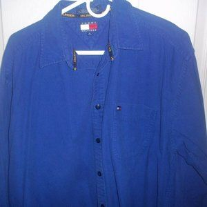 Tommy Hilfiger Blue Button-Up